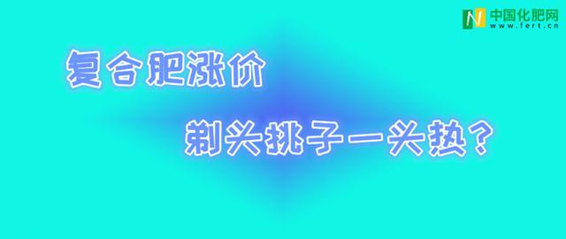 【中肥通讯社】复合肥涨价 剃头挑子一头热?